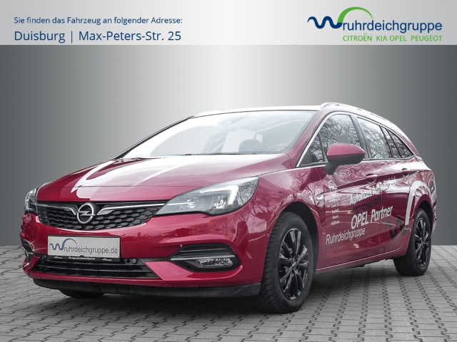 Opel Astra K Elegance EU6d LED+Navi+HUD+Rückfahrkamera, Jahr 2020, Benzin