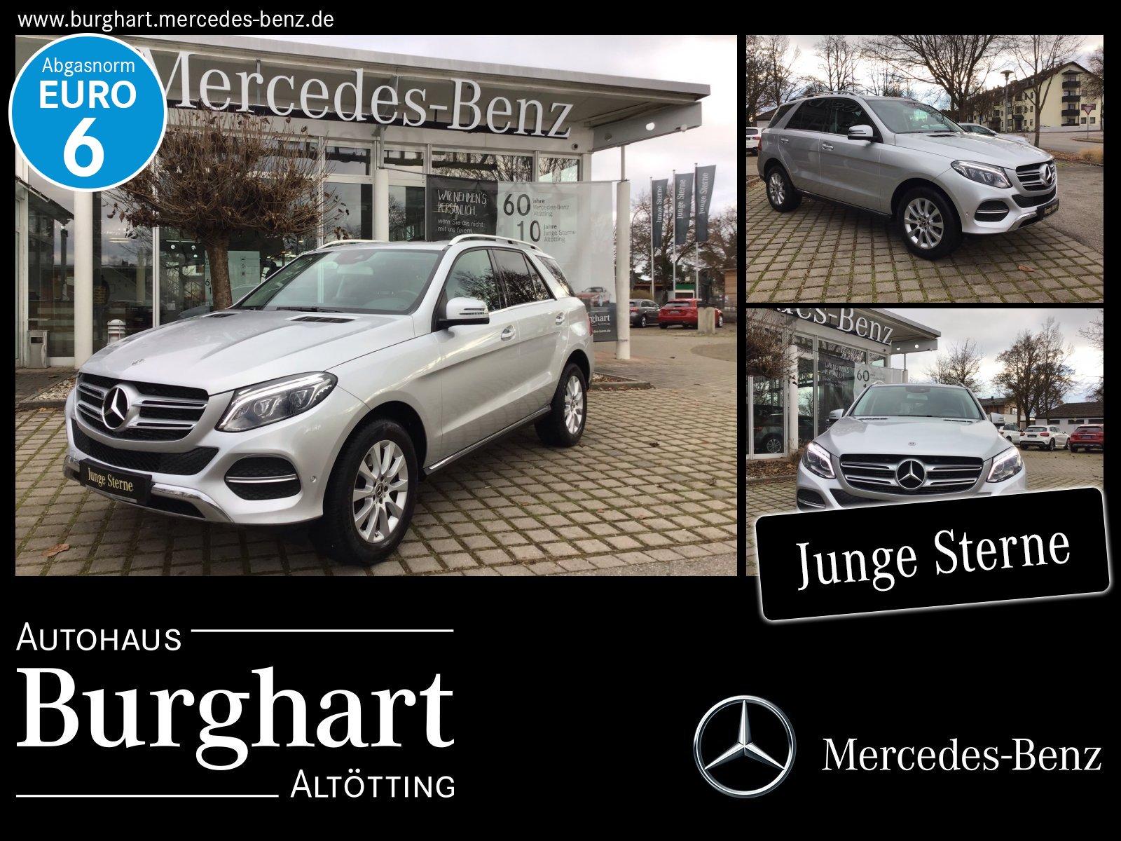 Mercedes-Benz GLE 250 d 4MATIC Schiebedach/AHK/Totwinkel/LED, Jahr 2017, Diesel