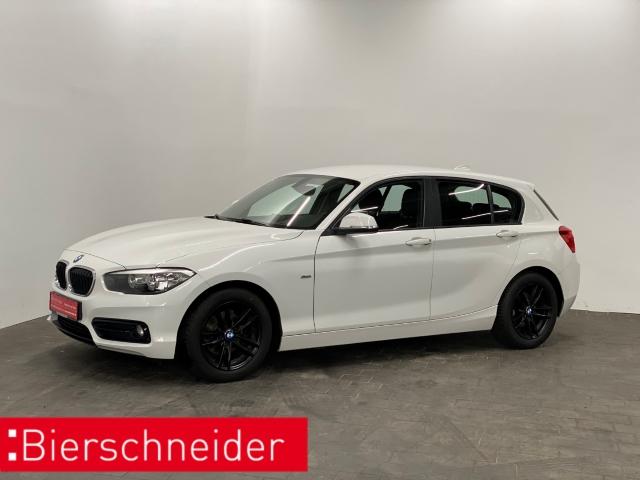 BMW 116 d Sportline NAVI 17 5-Türer Einparkhilfe Sitzheizung, Jahr 2016, Diesel