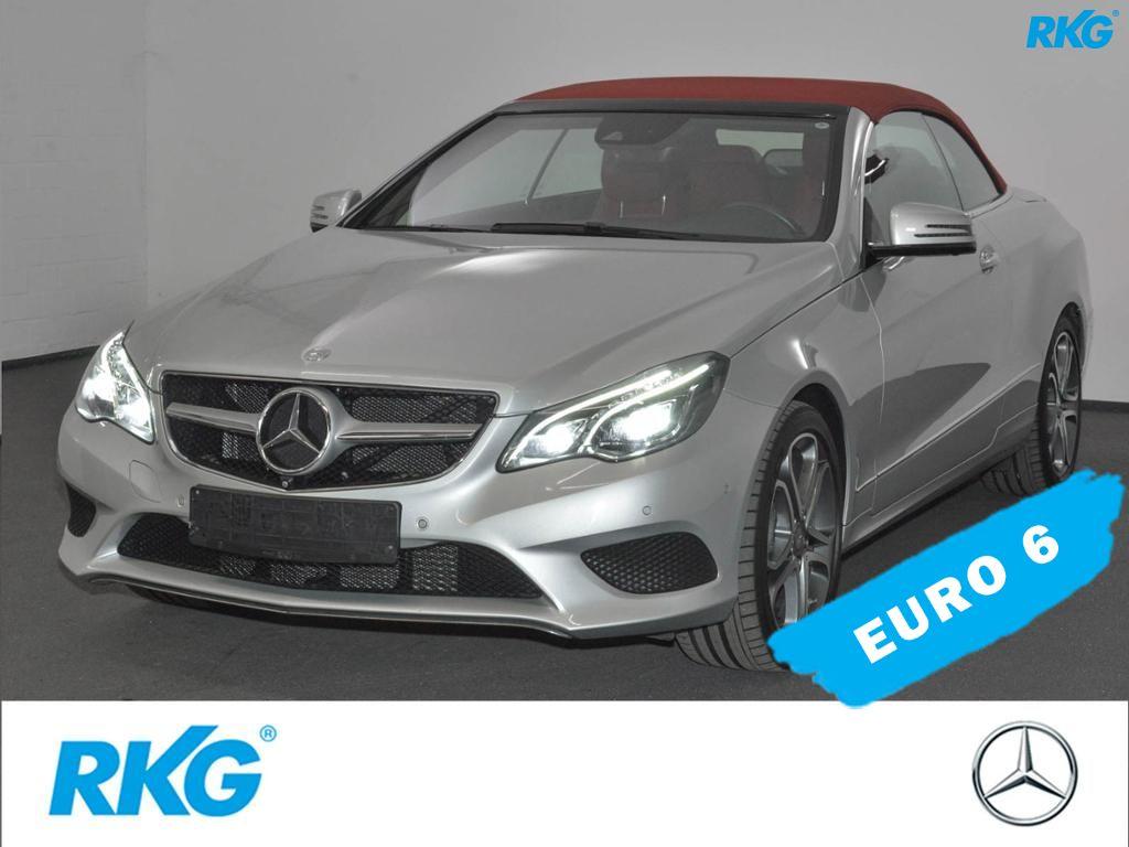 Mercedes-Benz E 250 BT Cabrio Sportpaket*Sitzklima*Comand*LED*, Jahr 2015, diesel