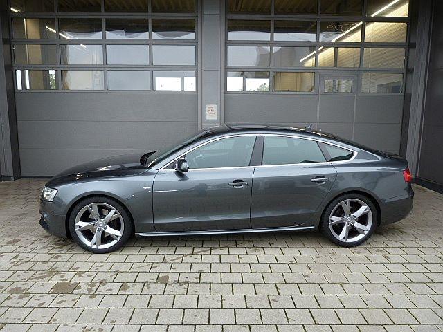 Audi A5 Sportback 3.0 TDI qu. S-tronic Navi,Stdhzg.,AHK,S-line,ACC XENON KLIMA ALU SITZHZG STANDHZG AHK, Jahr 2014, Diesel