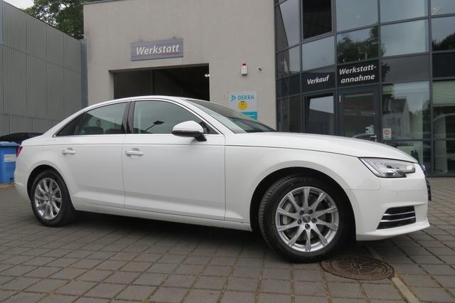 Audi A4 2.0 TFSI Quattro design erst3tkm/1Hand/Virtua, Jahr 2017, Benzin