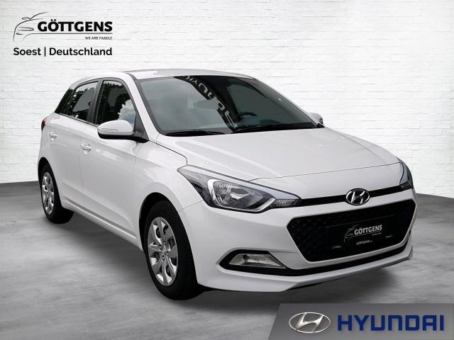 Hyundai i20 1.2 GO RADIO USB ANSCHLUSS KLIMAANLAGE, Jahr 2016, Benzin