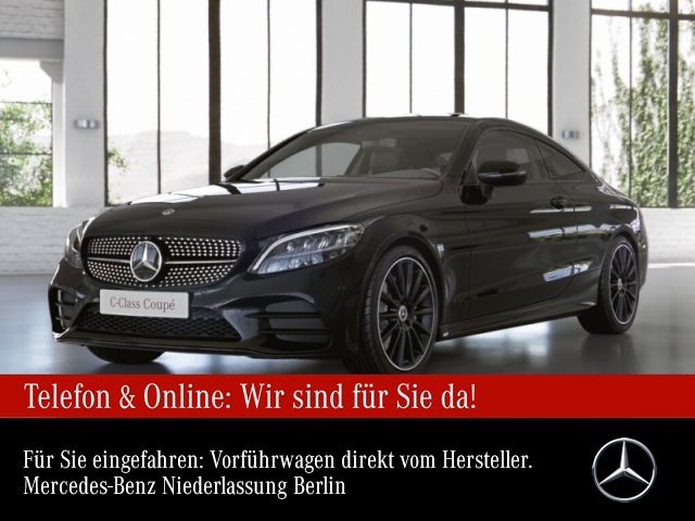 Mercedes-Benz C 200 Cp. AMG LED Night Kamera Spurhalt-Ass PTS 9G, Jahr 2020, Benzin