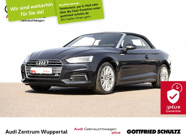Audi A5 Cabrio 2.0TFSI LEDER R-KAM B O HUD VIRTUAL CONN Sport, Jahr 2018, Benzin