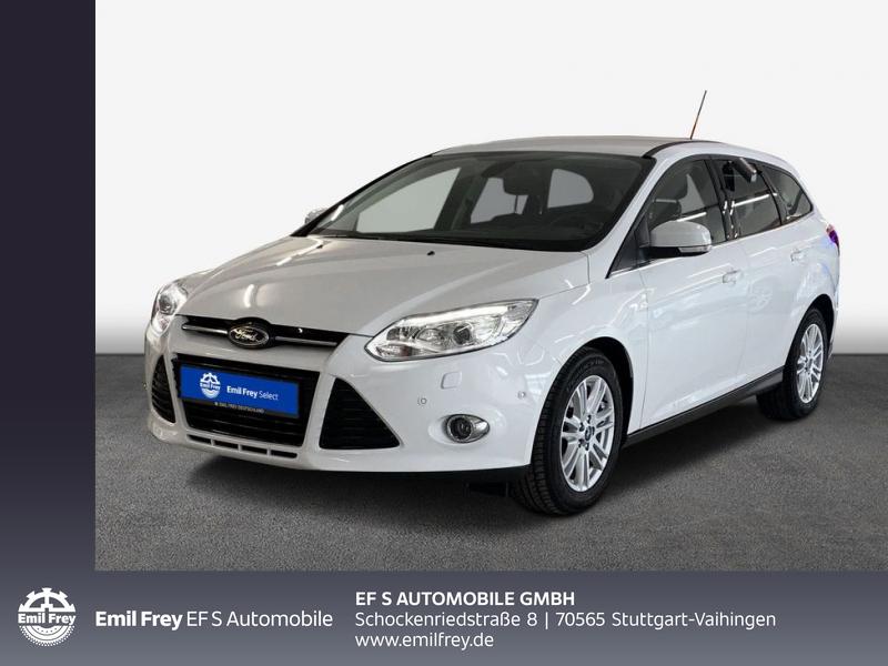 Ford Focus Turnier 2.0 TDCi DPF Automatik Titanium Xenon, Jahr 2014, Diesel