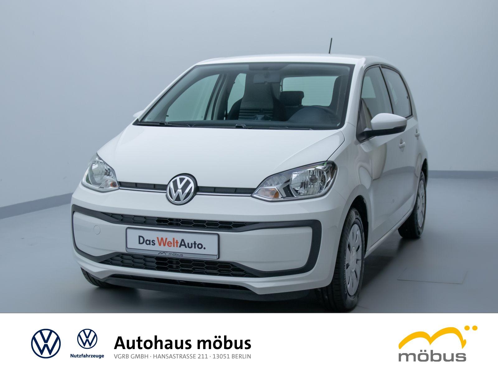 Volkswagen UP! MOVEUP!*KLIMA*MAPS*RADIO*TELEFON*ZV*FH*, Jahr 2017, Benzin