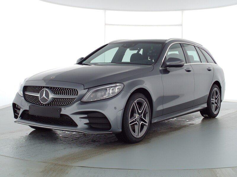 Mercedes-Benz C 200 4M T AMG+PANO+COMAND+KAMERA+MULTIBEAM+TOTW, Jahr 2020, Benzin