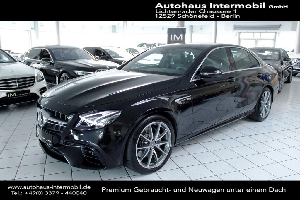 Mercedes-Benz E 63 AMG 4M+ 9G-Speedshift *Multibeam*Pano*360°, Jahr 2020, Benzin