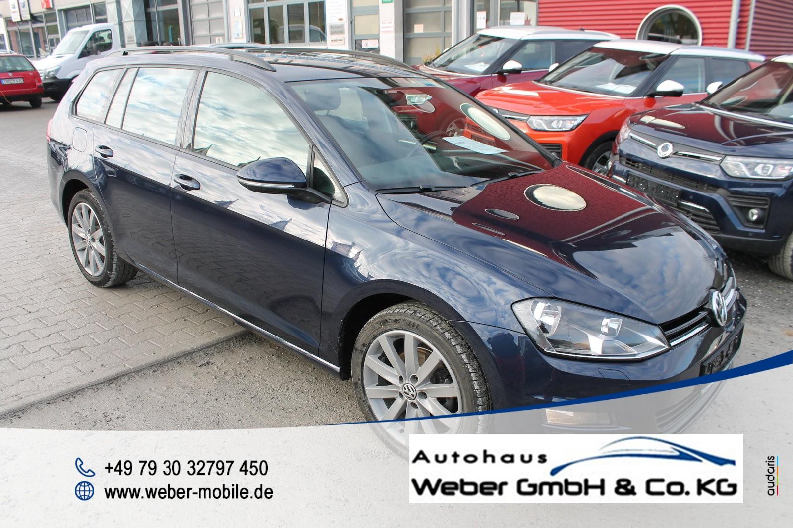 Volkswagen Golf VII Variant 1.6 TDI *Trendline*Tagfahrlicht*Navi*SHZ*Klima*, Jahr 2016, Diesel
