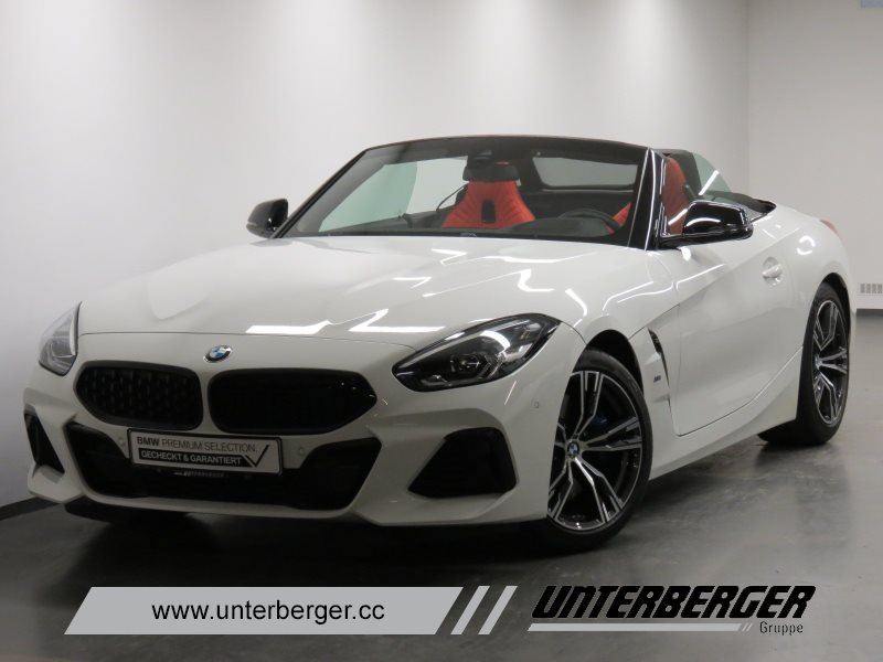 BMW Z4 M40i Head-Up HK HiFi DAB LED WLAN RFK Shz, Jahr 2019, Benzin