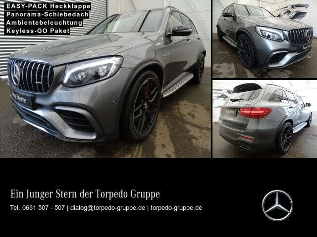 Mercedes-Benz GLC 63 S AMG 4M AMG NIGHT-PAKET NAVI+COMAND+LED+, Jahr 2018, Benzin