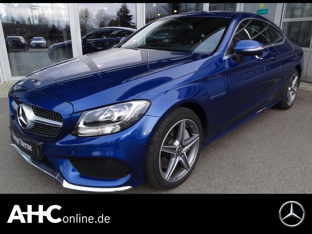 Mercedes-Benz C 400 4M Coupé AMG+KAMERA+CD+SH+TEMPOMAT+KLIMA, Jahr 2017, Benzin