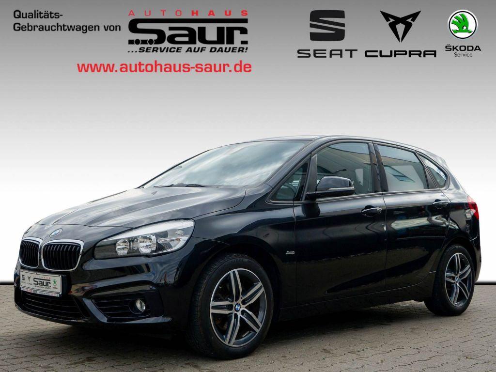 BMW 220i Active Tourer Sport Line+NAVI+8-FACH+AHK+SPORT, Jahr 2015, Benzin