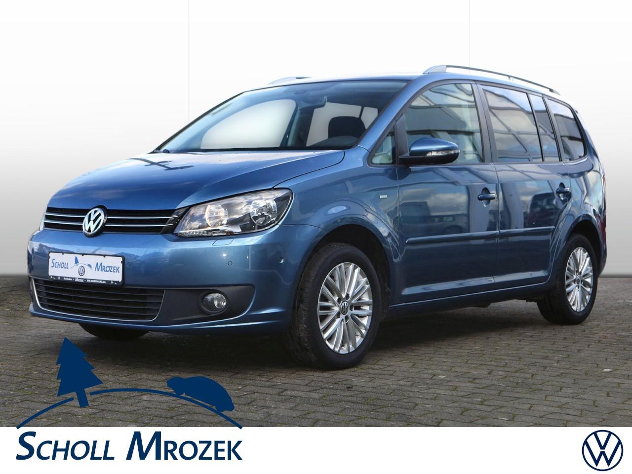 Volkswagen Touran CUP 1.6 TDI, Klimaautomatik, SH. PDC, Jahr 2014, Diesel
