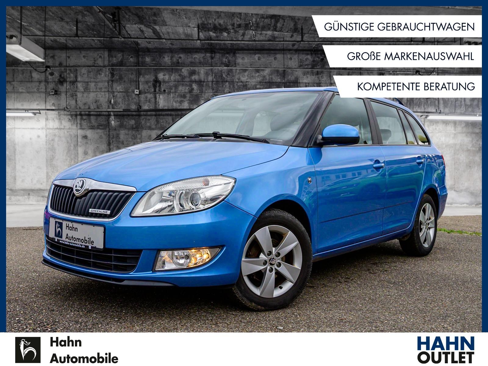 Skoda Fabia Combi Greenline 1.2TDI Sitzh Klima Tempo, Jahr 2014, Diesel