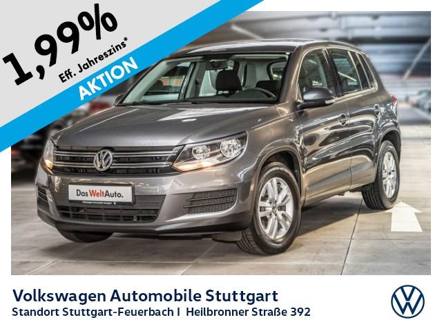 Volkswagen Tiguan Trend & Fun 1.4 Navi Tempomat, Jahr 2014, Benzin