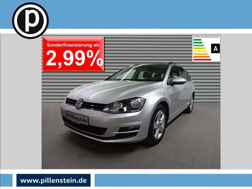 Volkswagen Golf VII Variant TDI NAVI+SHZ+PDC+ALU, Jahr 2013, Diesel