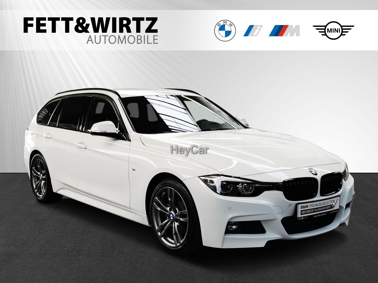 BMW 320d Touring M Sport Navi HiFi PDC LED Sportsitz, Jahr 2018, Diesel