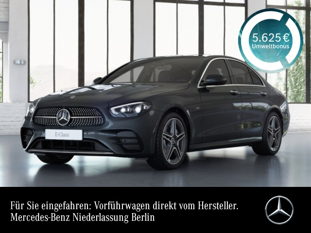 Mercedes-Benz E 300 e 4M AMG+Pano+360+MultiBeam+Fahrass+Keyless, Jahr 2020, Hybrid