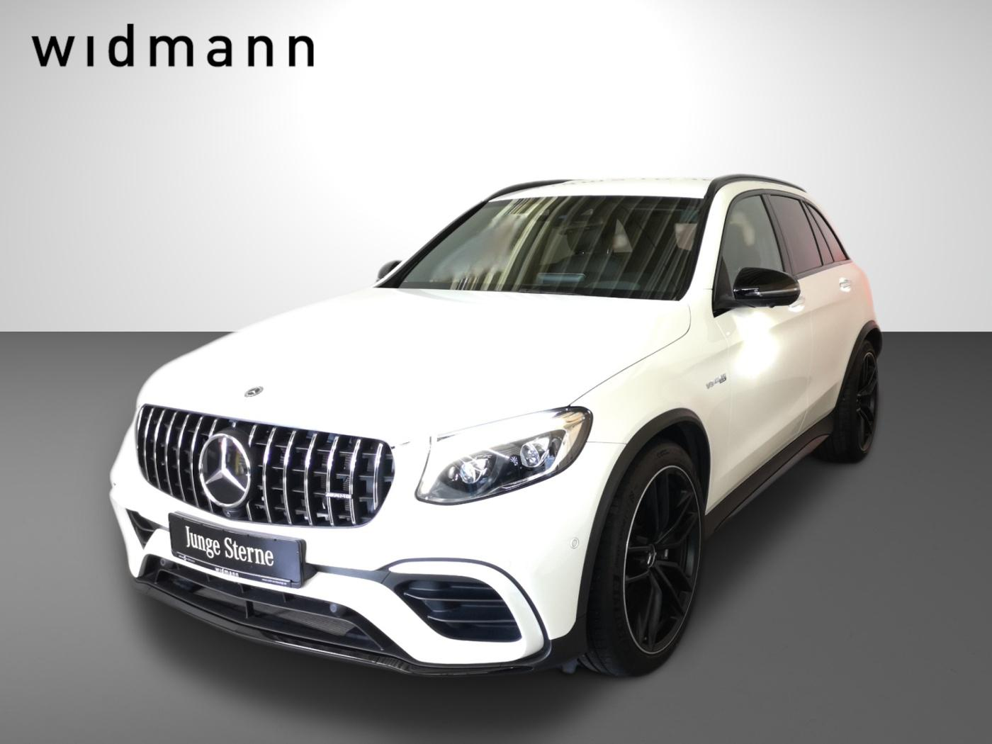 Mercedes-Benz GLC 63 AMG 4M+ Chrom*Night*Comand*ILS*HUD*Sitzhz, Jahr 2019, Benzin