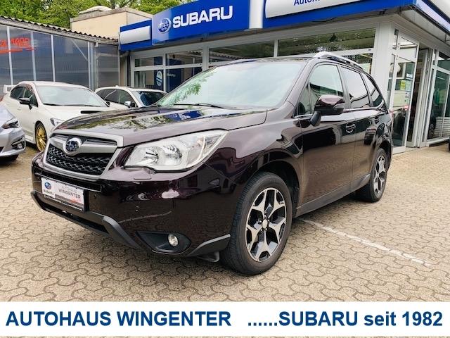 Subaru Forester 2.0i Platinum*6-Gang*Leder*Panoramadach, Jahr 2013, Benzin