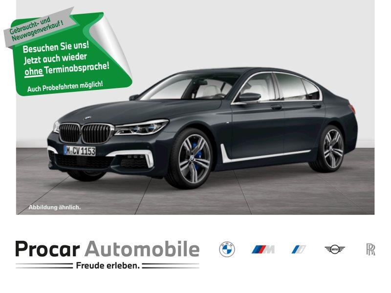 BMW 750d xDrive M-Sport+Fernges.Parken+Driv.Assis., Jahr 2018, Diesel