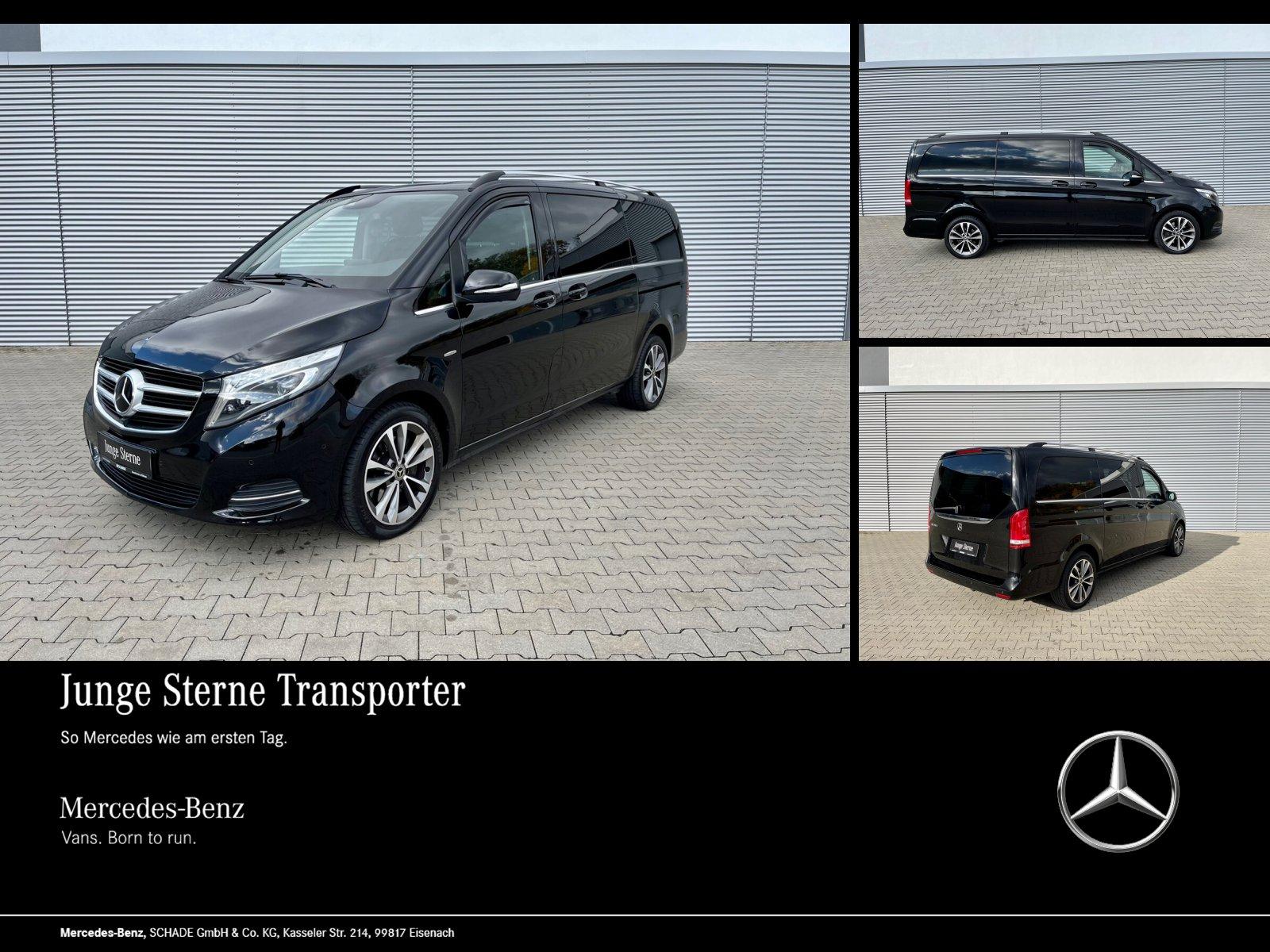 Mercedes-Benz V 250 AVANTGARDE L NAPPA STANDHEIZUNG AHK 2,5t, Jahr 2016, Diesel