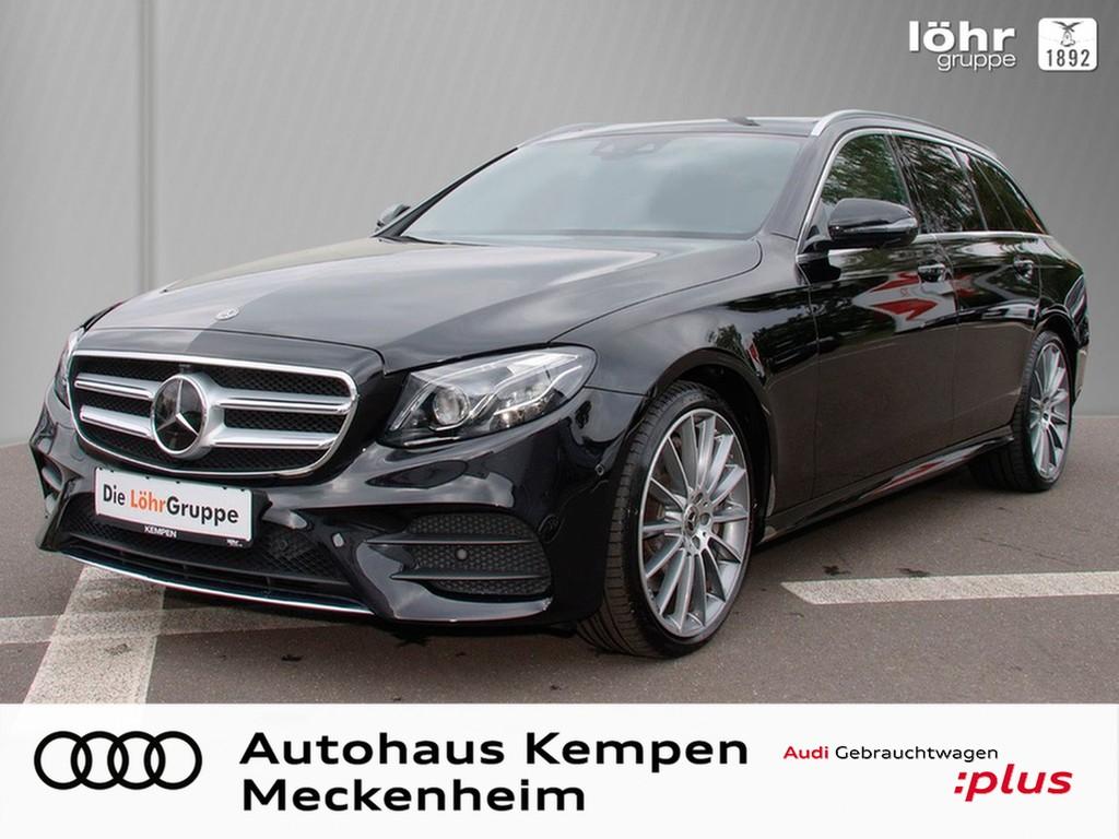 Mercedes-Benz E 450 4Matic T-Modell AMG AHK HUD PAN Standh., Jahr 2019, Benzin