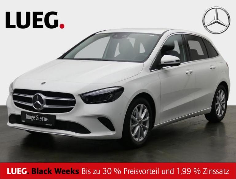 Mercedes-Benz B 250 Progressive+MBUX+NavPrem+Mbeam+AHK+Mem+360, Jahr 2019, Benzin