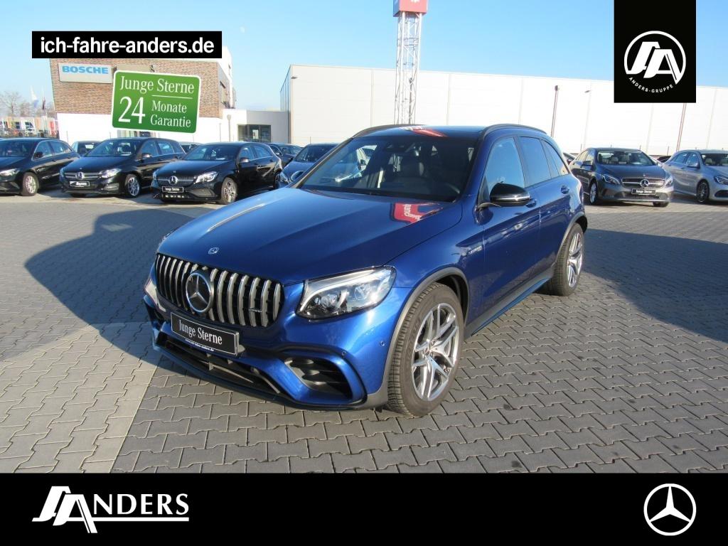 Mercedes-Benz GLC 63 AMG 4M+ Designo+Navi+Kam+Distr.+Burm+Pano, Jahr 2018, Benzin