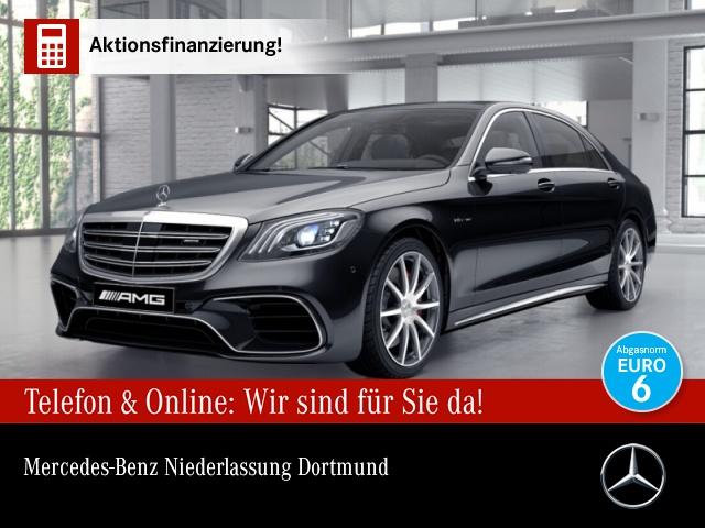 "Mercedes-Benz S 63 AMG 4M+ Lang Pano.Exclus.P.20"".360°.23P, Jahr 2017, petrol"