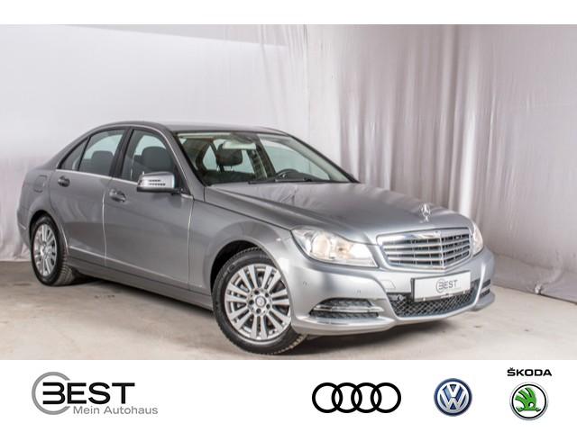 "Mercedes-Benz C 200 CGI Elegance COMAND, PDC, LM16"", Shz, Jahr 2013, petrol"