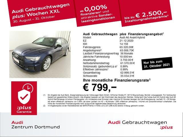 Audi A6 Avant 55TFSIe qu. S line/Matrix/Pano/ACC/eSitze, Jahr 2020, Hybrid