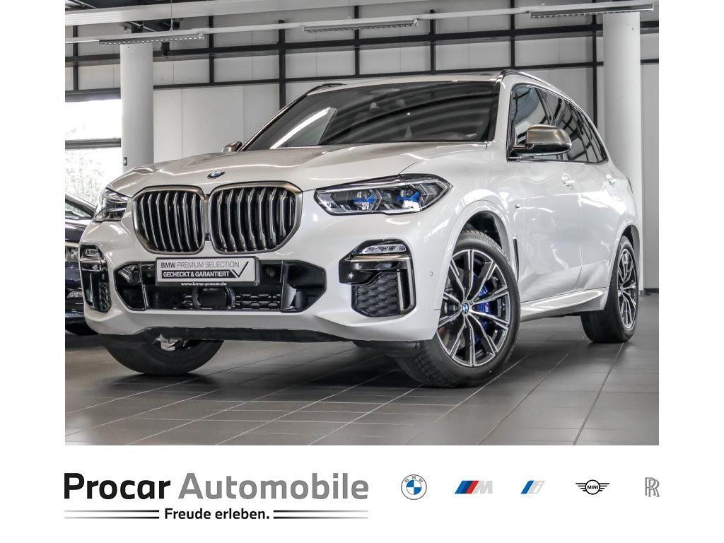 BMW X5 M50d M Sport AHK HuD Laser Soft-Close Standhzg, Jahr 2020, Diesel