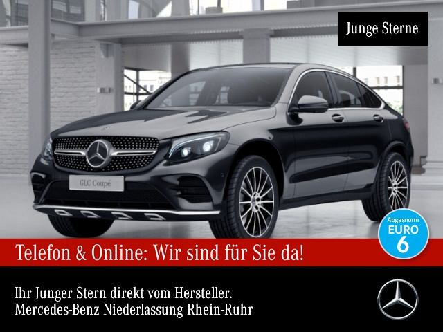 Mercedes-Benz GLC 250 d Cp. 4M AMG Fahrass 360° Stdhzg, Jahr 2018, Diesel