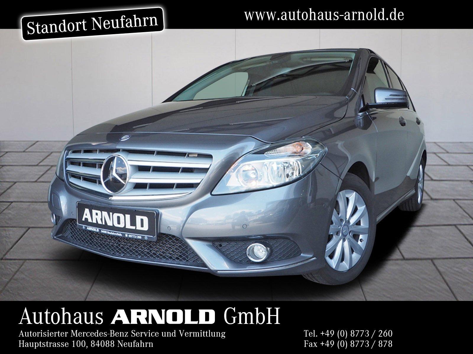 Mercedes-Benz B 200 CDI Navi AHK Einparkh. Autom. - GW-Gara. !, Jahr 2013, Diesel