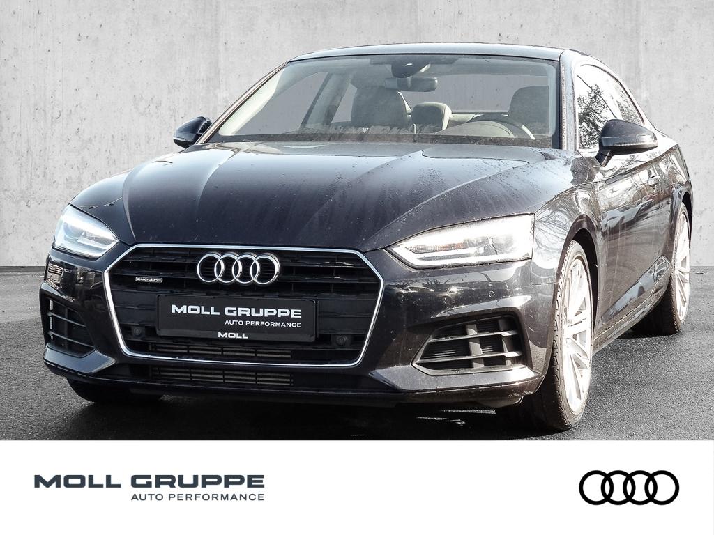 Audi A5 Coupe 2.0 TFSI quattro basis NAVI LEDER PANOR, Jahr 2017, Benzin