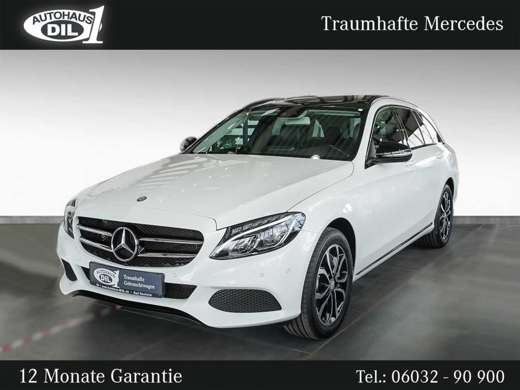 Mercedes-Benz C 400 4Matic T 9G-TR. *LED*Navi*Pano*, Jahr 2016, Benzin