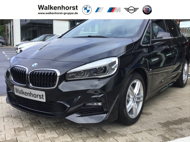 BMW 220 Active Tourer i M-Sport Navi HUD Kamera LED Keyless Kurvenlicht Rückfahrkam. Fernlichtass., Jahr 2019, Benzin