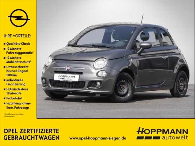 Fiat 500S 1.2 8V Multif.Lenkrad NR Knieairbag Klima PDC CD MP3 ESP Spieg. beheizbar Kindersitze int., Jahr 2013, Benzin