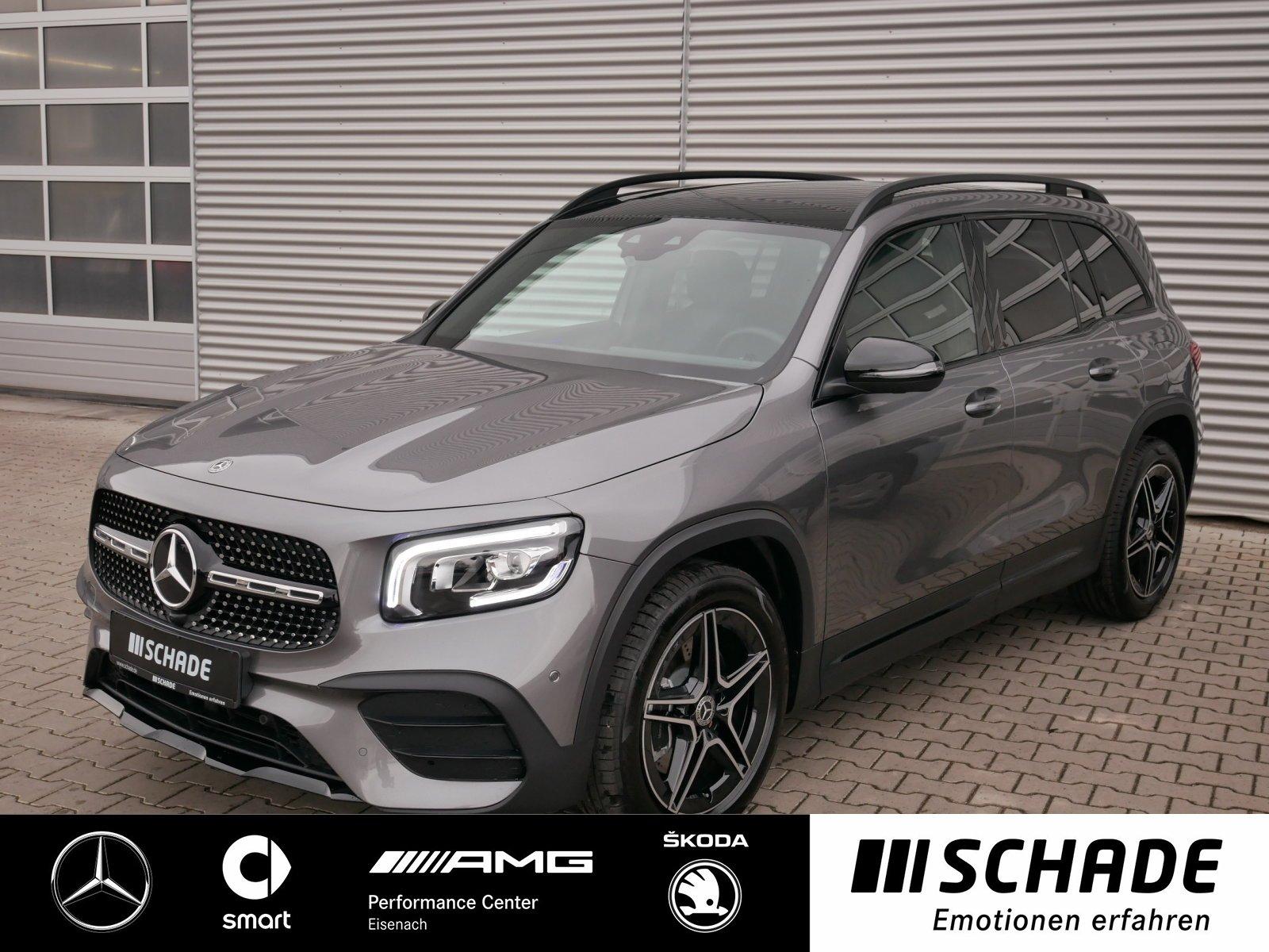Mercedes-Benz GLB 250 4M AMG Pano-Dach*LED*MBUX*Rückfahrkamera, Jahr 2019, Benzin