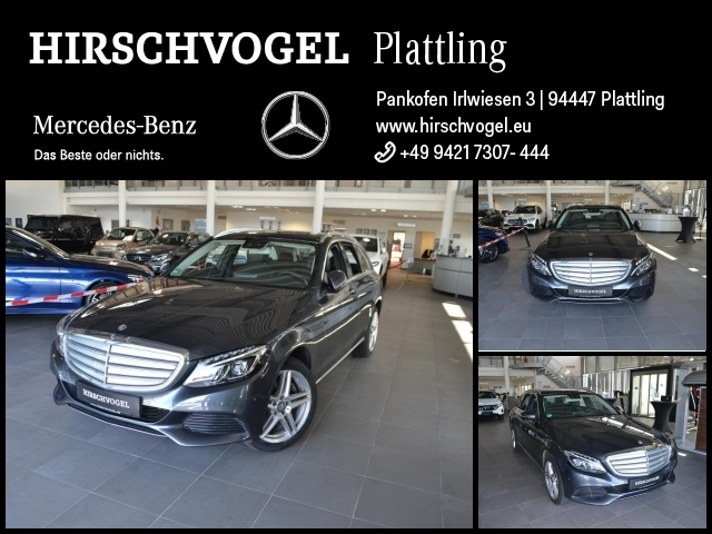Mercedes-Benz C 250 d 4M EXCLUSIVE+Pano+AHK+Comand+ILS+PDC+SHZ, Jahr 2015, Diesel