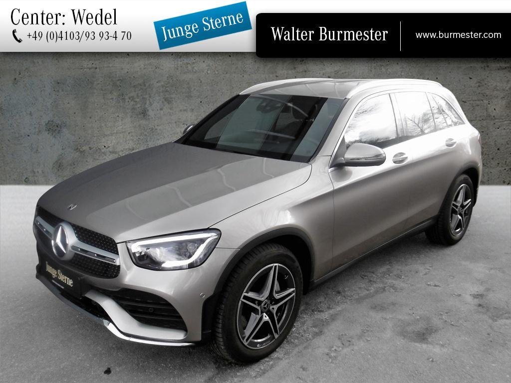 Mercedes-Benz GLC 400 d 4M AMG+Burmester+Distronic+Spur-P.+HUD, Jahr 2020, Diesel