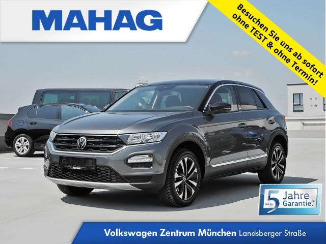 Volkswagen T-ROC 1.5 TSI UNITED Navi DigitalCockpitPro Standhz. eKlappe AppConnect ParkPilot FrontAssist 17Zoll 6-Gang, Jahr 2020, Benzin