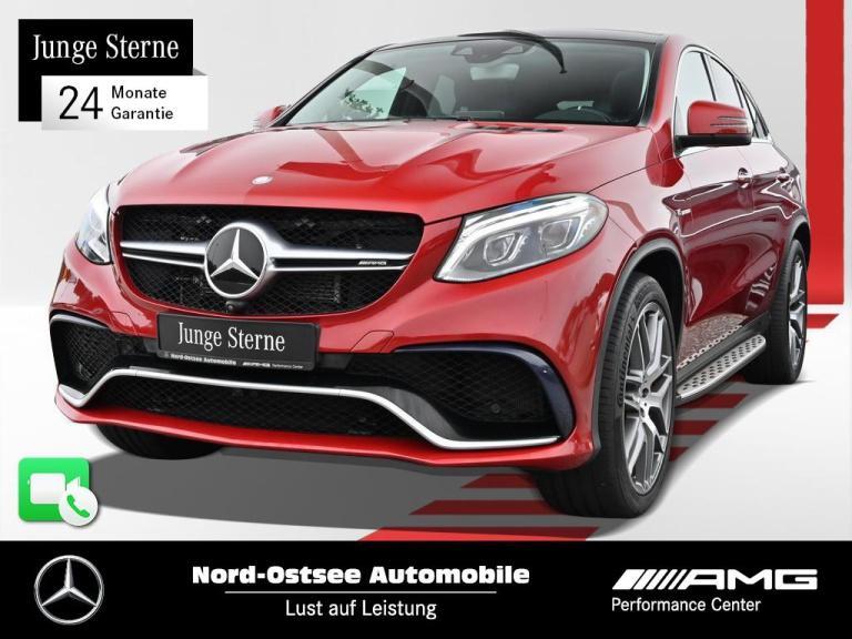 Mercedes-Benz GLE 63 S AMG 4M Comand Pano Distr. Standh. AHK, Jahr 2015, Benzin