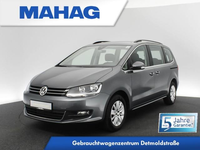 Volkswagen Sharan COMFORTLINE 2.0 TDI 7-Sitzer Navi AHK ParkPilot Sportsitze DAB+ Bluetooth BlindSpot LaneAssist 6-Gang, Jahr 2020, Diesel