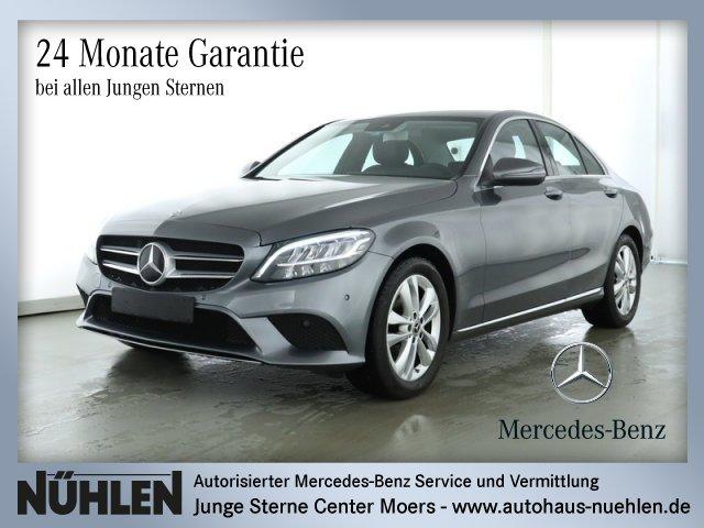 Mercedes-Benz C 180 AVANTGARDE+Automatik+Navi+LED+PTS Sitzhzg., Jahr 2019, Benzin