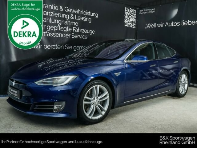 Tesla Model S 90D PREMIUM/AUTOPILOT/SMART-AIR/PANO, Jahr 2016, Elektro