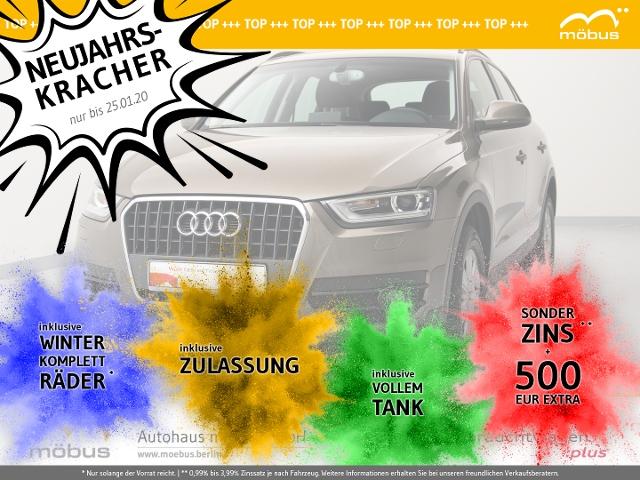 Audi Q3 2.0 TDI 6-GA*XEN*NAV*DAB*MUFU*GRA*PDC*SHZ, Jahr 2014, diesel